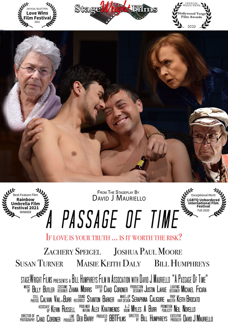 StageWrigth Films - A Passage of Time Poster